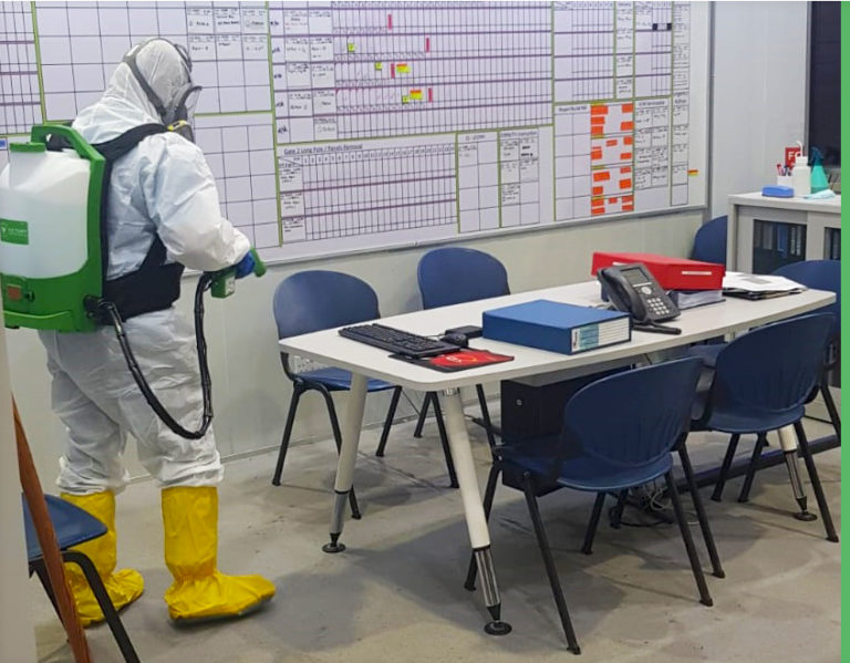 Have you properly Disinfected your Facility with EPA Approved Germicidal Disinfectant? Covid-19 is not GONE and neither is your legal liability to provide a safe Workplace.